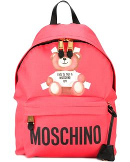 Toy Bear Print Backpack