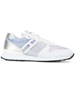R261 Lace-up Sneakers