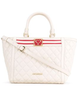 Quilted Trapeze Tote