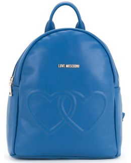 Double Heart Backpack