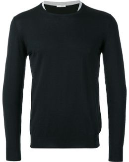 Double Collar Jumper
