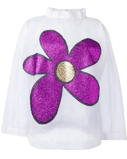 Long Sleeve Flower Top