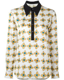 Allover Printed Flower Shirt