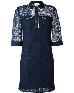 Lace Shirt Dress