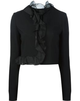 Fitted Cropped Jacket