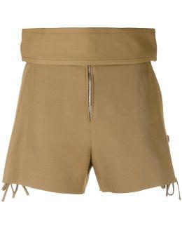 Thick Waistband Shorts