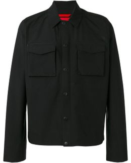 'hoodoo' Wind Stopped Shirt Jacket