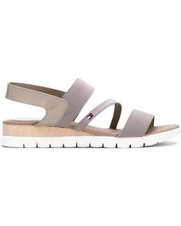 Slip-on Strappy Flat Sandals