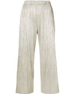 Pleated Shift Trousers