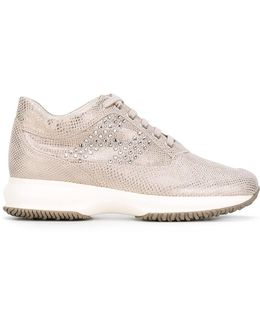 Crystal Embellished Trainers