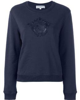 Embroidered Motif Sweatshirt