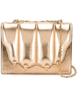 Cat's Claw Metallic (grey) Shoulder Bag