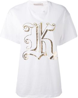 Metallic K T-shirt