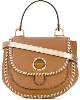 Metallic Strap Crossbody Bag
