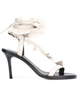 Ruffle-trimmed Ansel Sandals