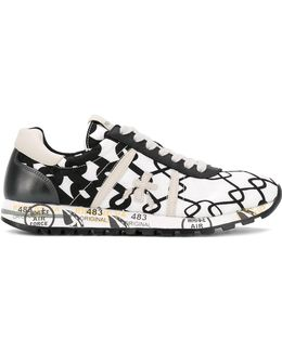 Printed 'lucy' Sneakers