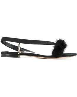 Open-front Sandals