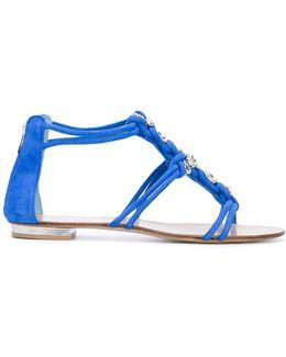 Crystal Embellished Sandals