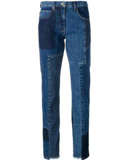 'patti' Patchwork Jeans