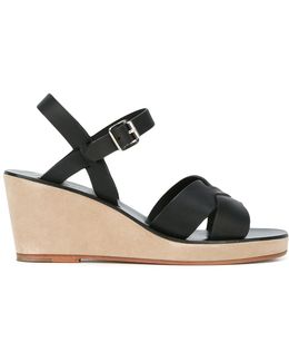 Classic Wedge Sandals