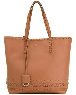 Braided Details Tote