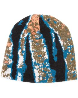 Abstract Tiger Stripe Beanie