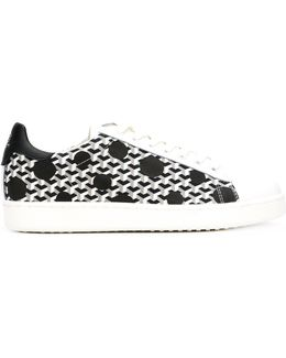 Polka Dot Low Top Sneakers