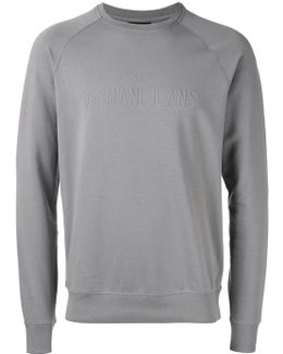 Brand Embossed Sweatshirt