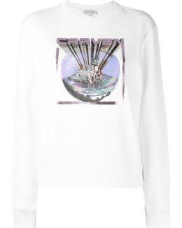 Castle Print Sweatshirt