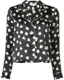 Floral Longsleeve Pyjama Top