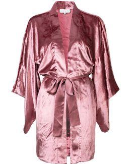 Velvet Haori Kimono