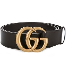 - Double G Buckle Belt - Men - Calf Leather/brass - 110