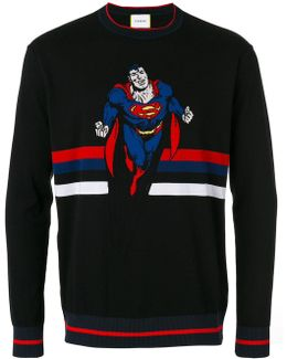 Superman Intarsia Jumper