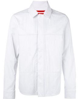 Snap Fastening Shirt Jacket