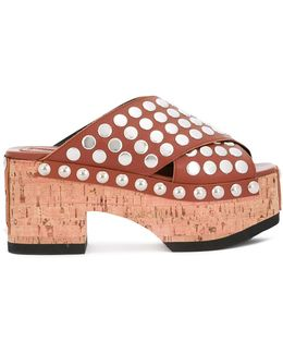 'paloma' Studded Clogs