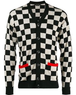 Checkered Cardigan