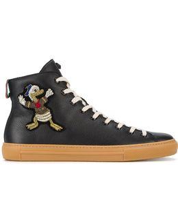 Donald Duck Hi-top Sneakers