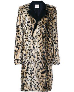 Tailored Furry Coat