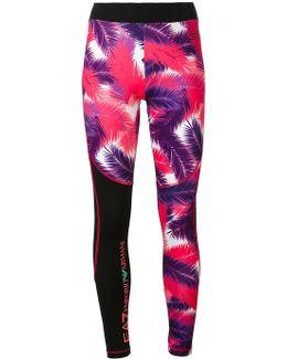 Palm Print Leggings