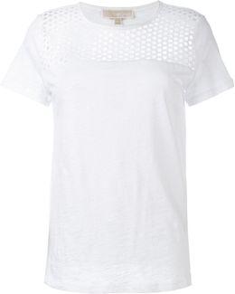 Eyelet Yoke T-shirt