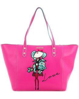 Doll Patch Shopping Bag