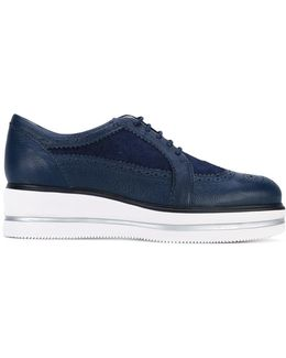 Brogue Platform Sneakers