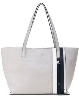 Zipped Detail Shopping Bag