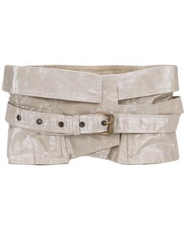 Waist Buckled Belt