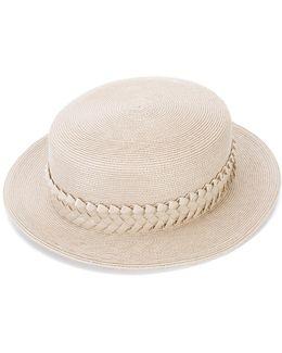 Braided Trim Hat