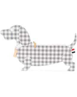 Checked Dog Clutch
