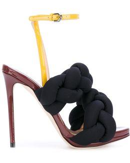 Contrast Sandals