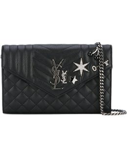 Star Embellished Clutch Bag