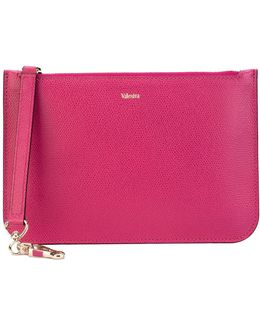 Grained Pouch Bag