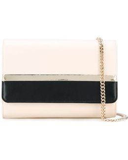 Two-tone Wallet Clutch Bag